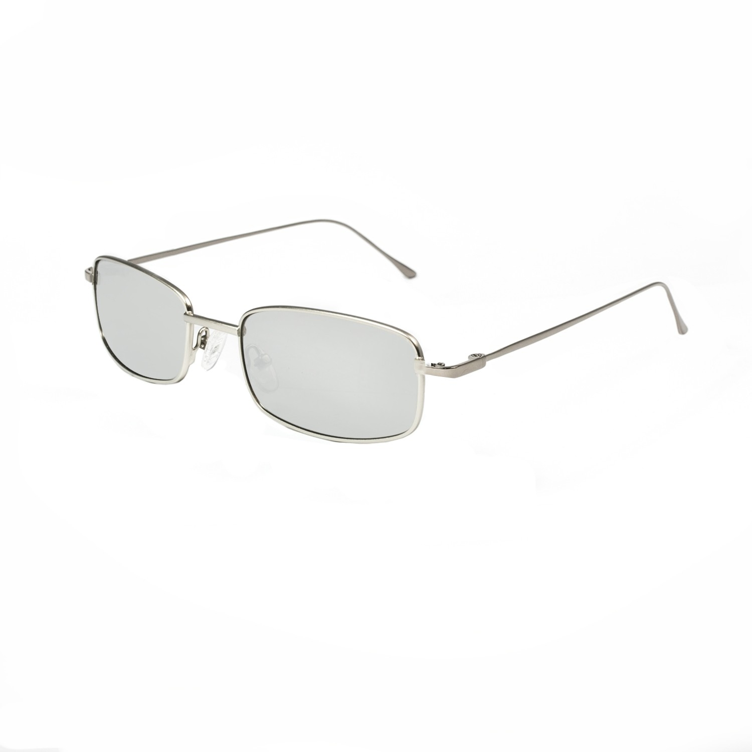 DYLAN silver metal frame with silver revo lens