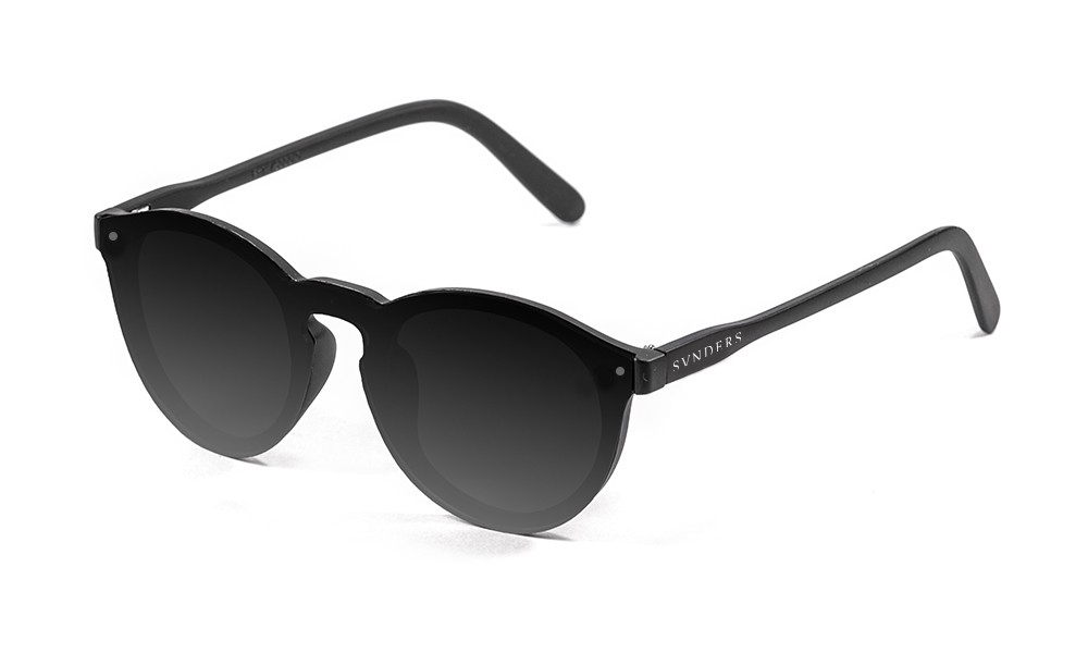 Biarritz - Lente plana / revo / negro mate - ahumada (gafas)