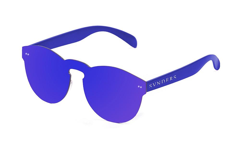Biarritz - Lente plana / policarbonato / azul oscuro (gafas)