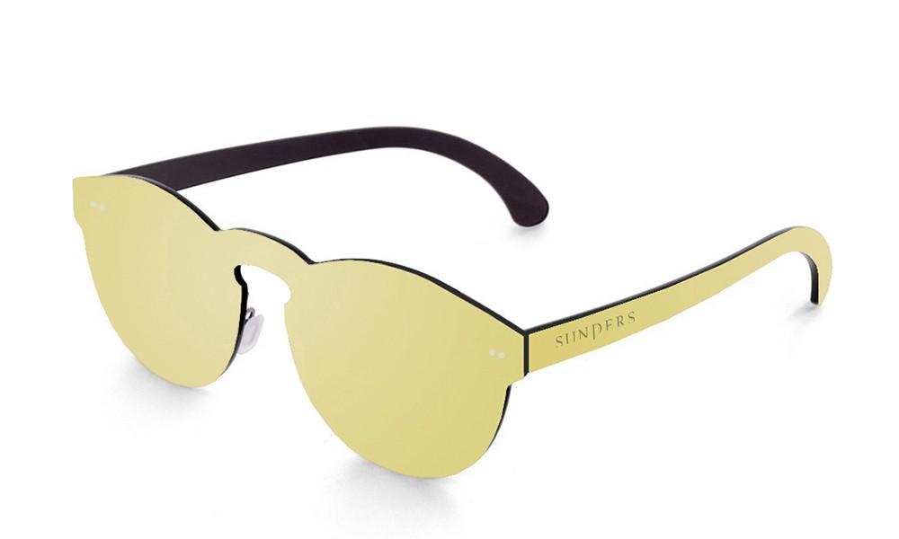 Biarritz - lente plana espacial / dorada (gafas)