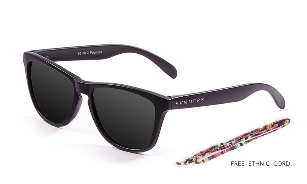America classic gafas de sol marco negro lente negra pequeña thumbnail