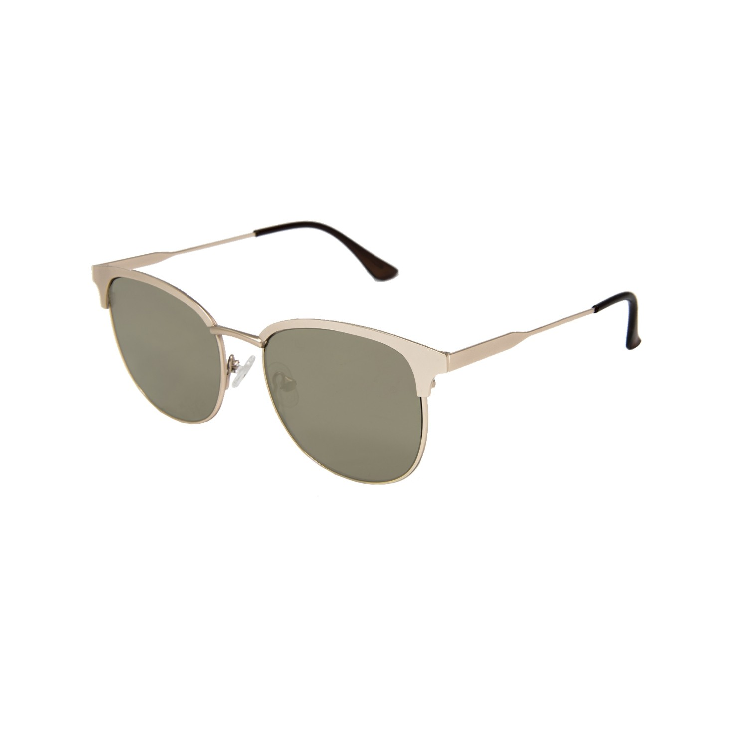 MADISON shiny gold frame with flat revo gold lens