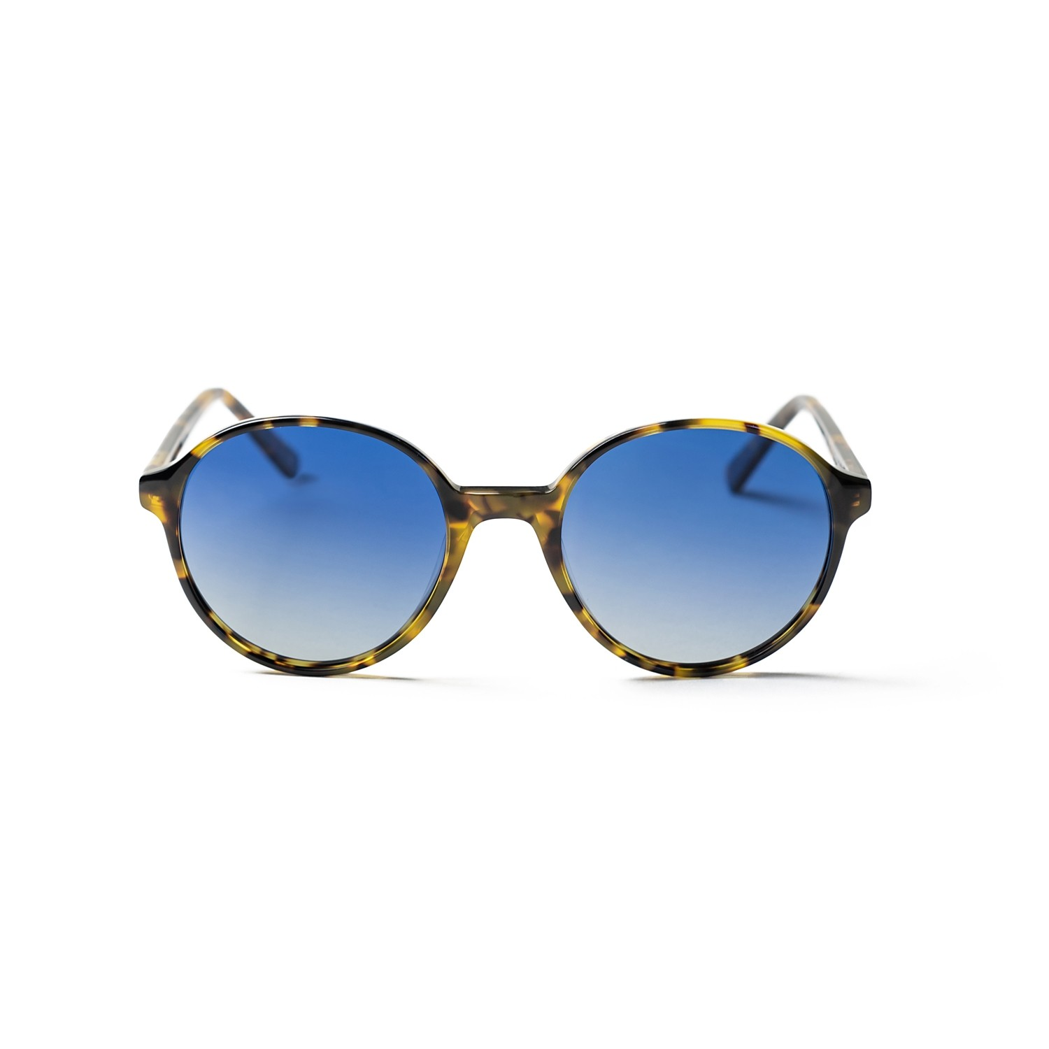 MADSEN DEMI BROWN FRAME AND BLUE LENS