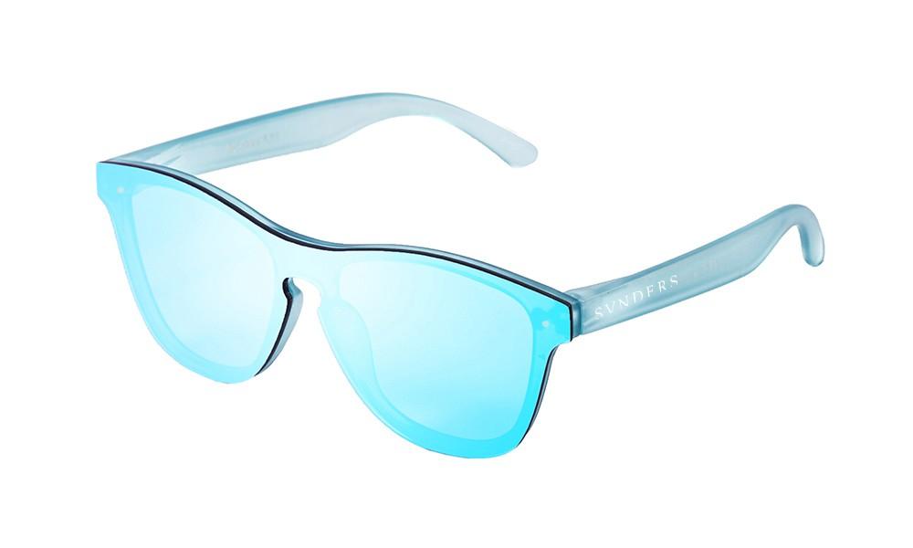 Transparent Blue Revo – Sky LensSunpers Flat Sunglasses wOymNv8n0