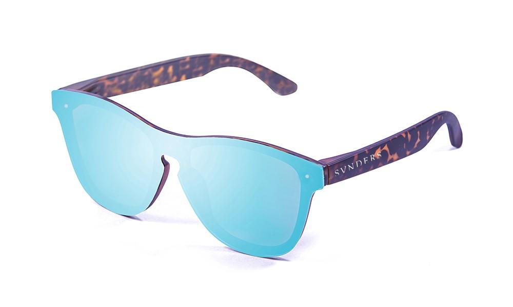 Gafas de sol SUNPERS modelo San Francisco montura de policarbonato carey lente azul cielo