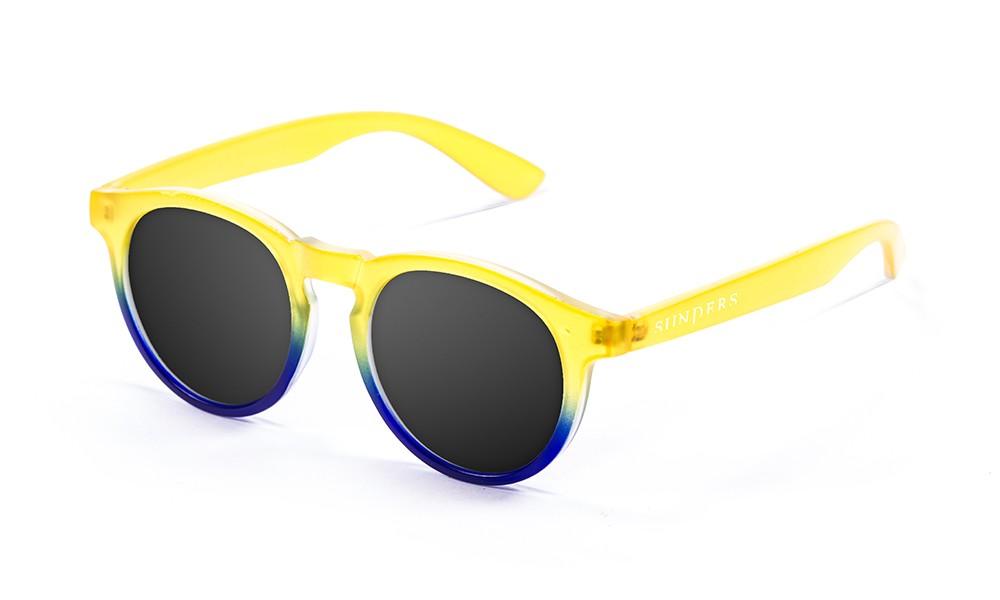 Biarritz - Clásica / transparente amarillo - azul inferior / ahumadas