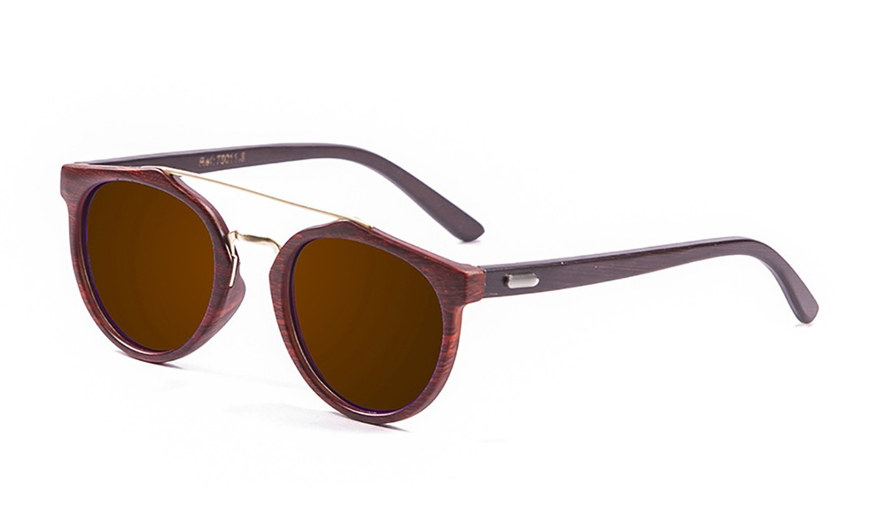 bamboo brown, brown frame, brown lens