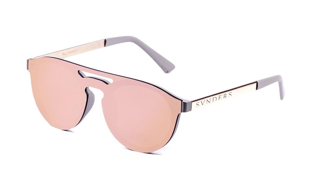 matte solid grey / revo pastel pink flat