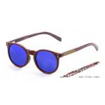 Biarritz - Madera clásica / azul espejo / marrón / bambú oscuro
