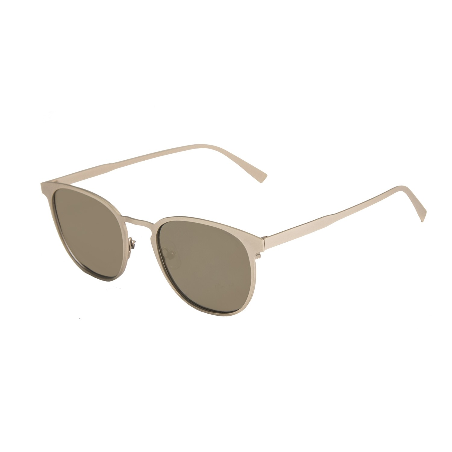 SHARON shiny gold frame with flat revo gold lens