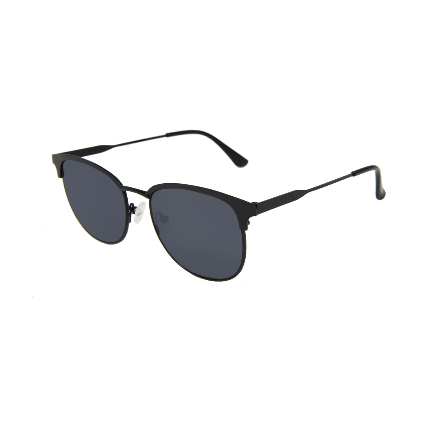 MADISON shiny black frame with flat smoke lens