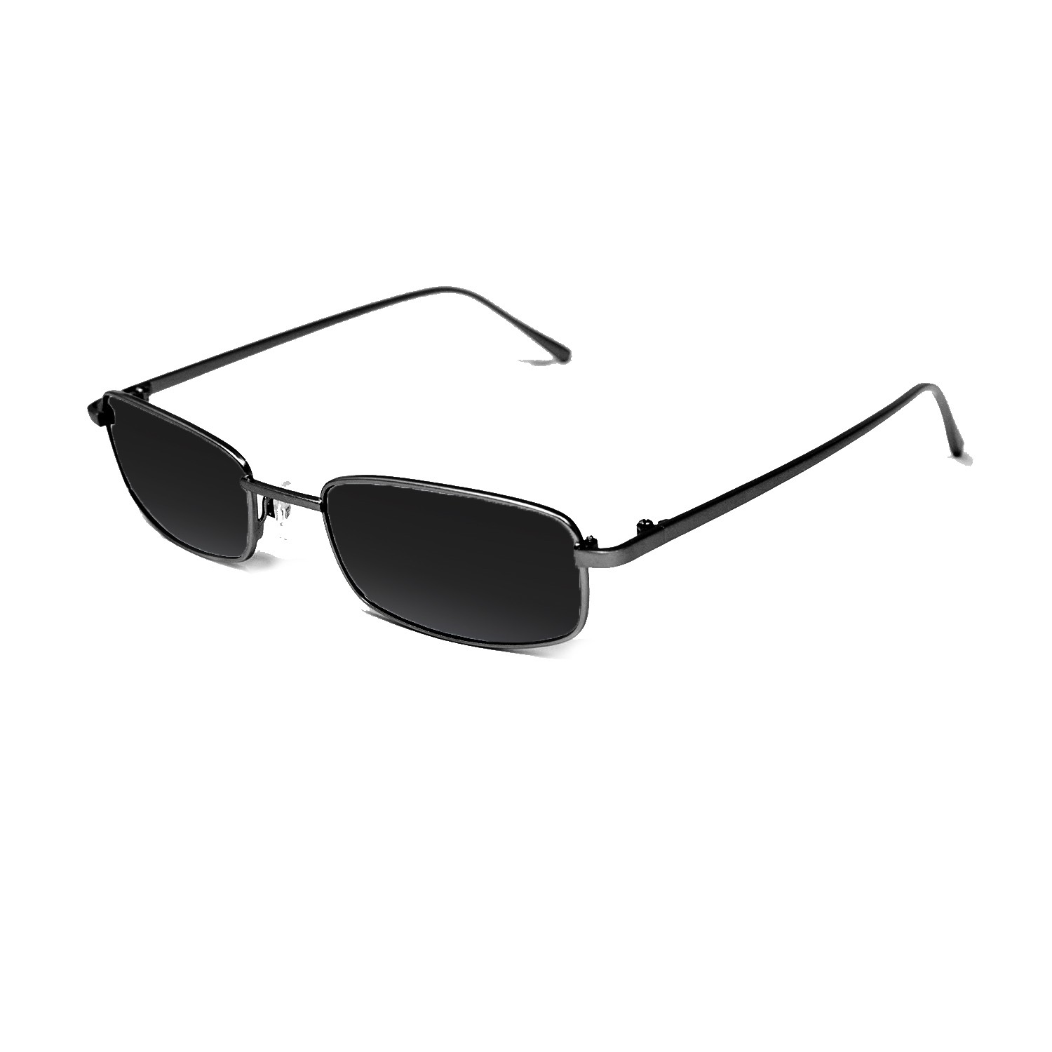 DYLAN black metal frame with smoke lens