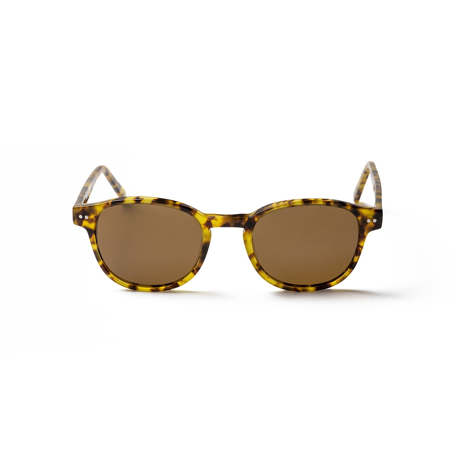 PAXTON DEMI BROWN FRAME AND BROWN LENS