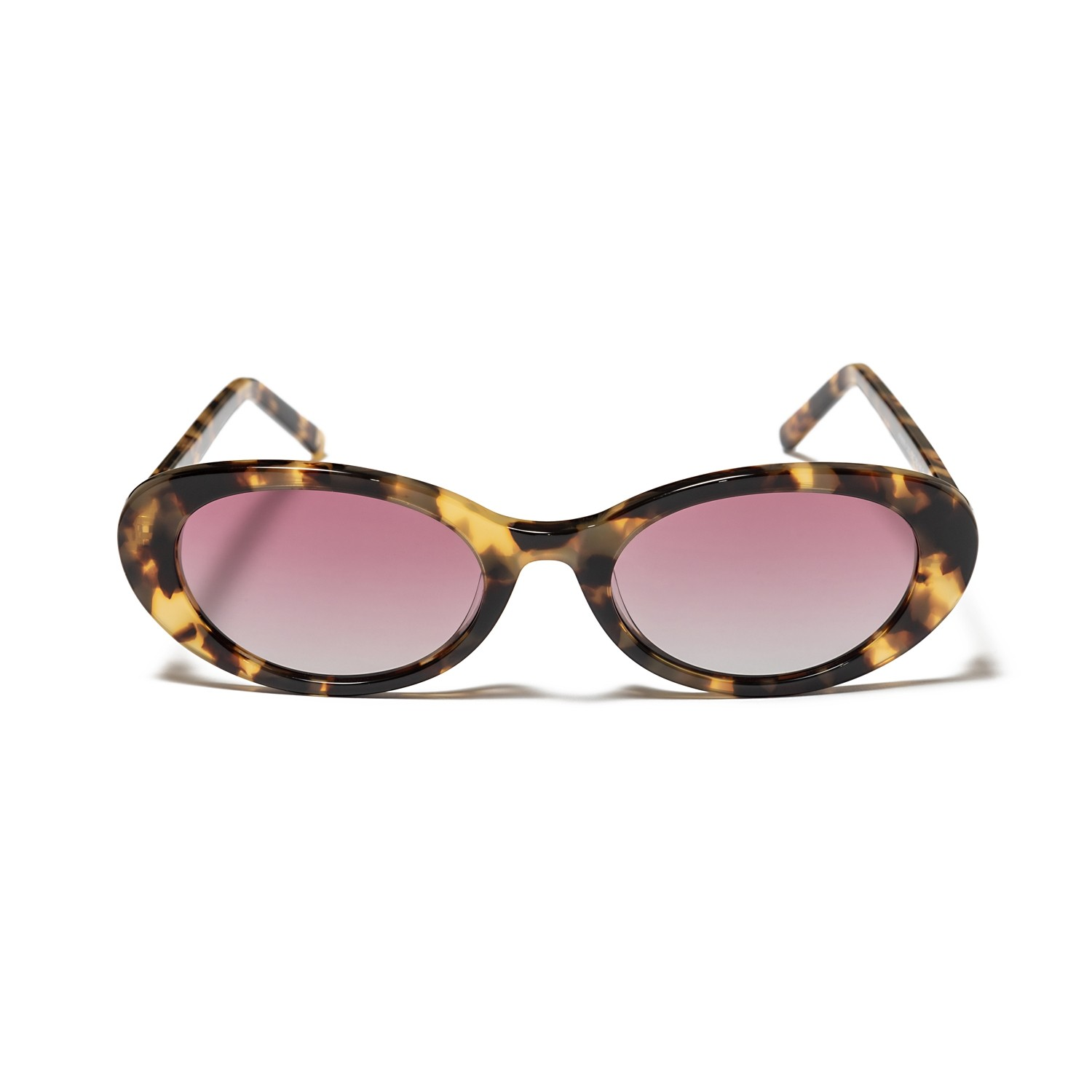 PAYMER DEMI BROWN AND GRADIENT PINK LENS