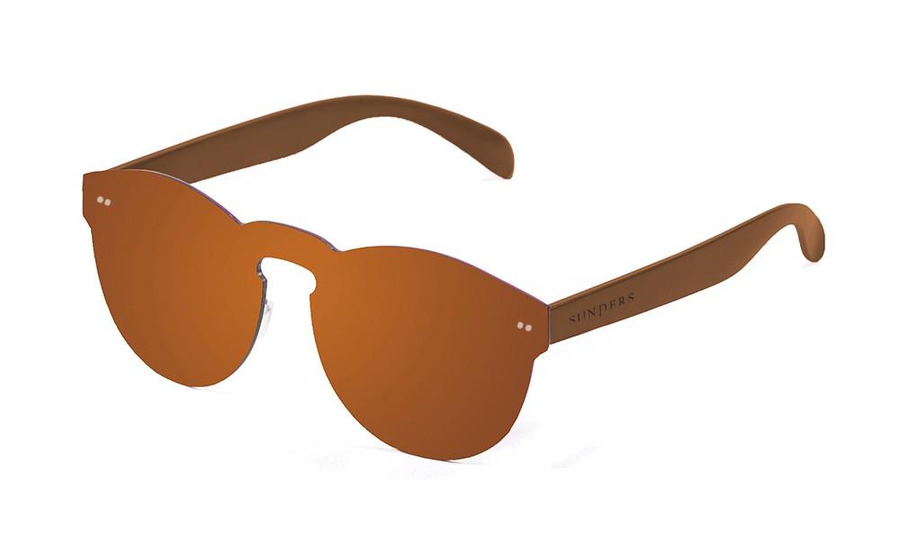 Gafas de sol - policarbonato / lente plana marrón espacial | SUNPERS