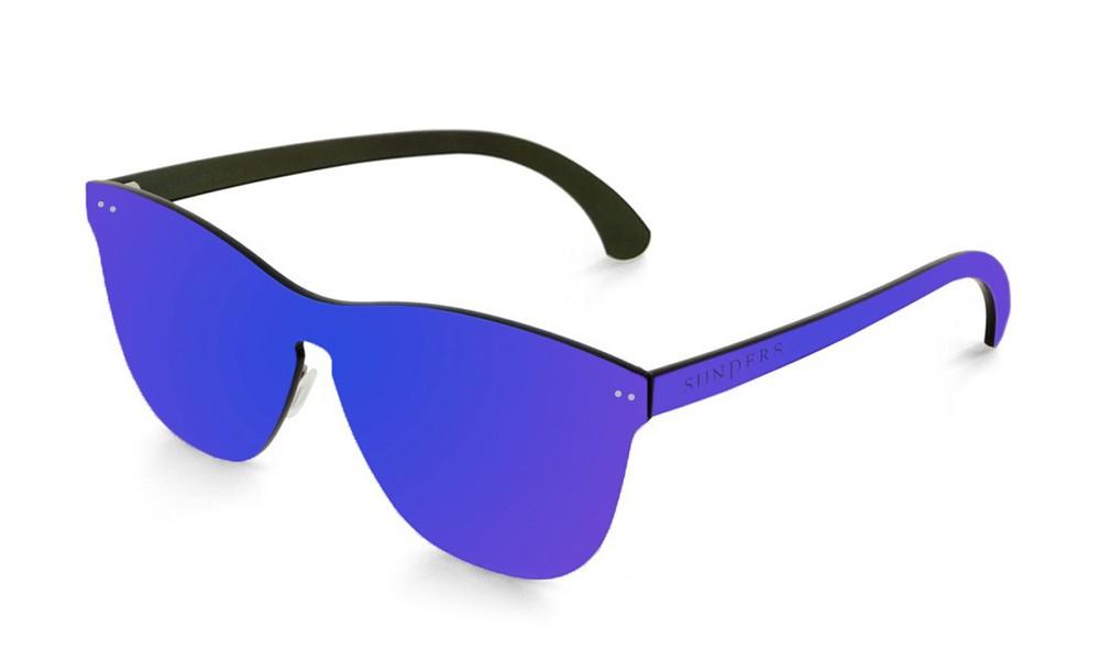 Gafas de sol SUNPERS modelo San Francisco lente plana espacial azul oscuro