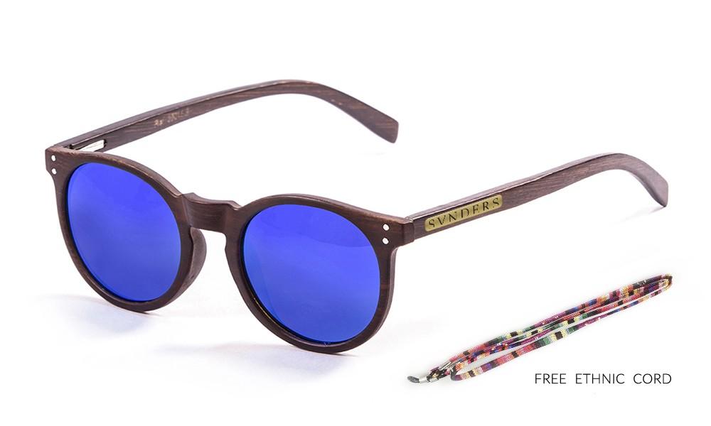 bamboo brown arm, brown dark, revo blue