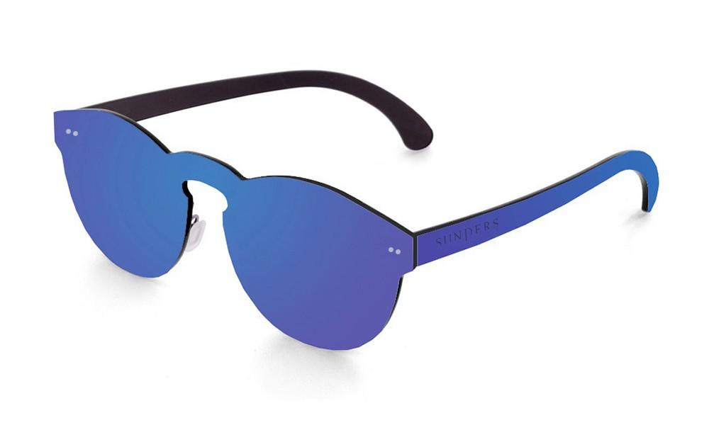 Biarritz - lente plana espacial / azul oscuro (gafas)