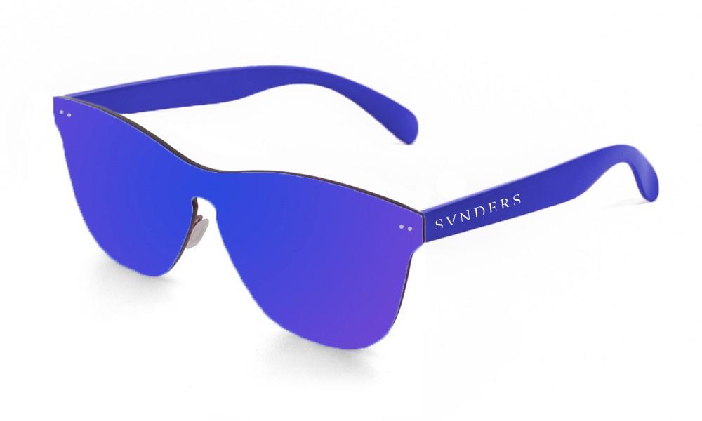 San Francisco - Lente plana / policarbonato / azul oscuro (gafas)