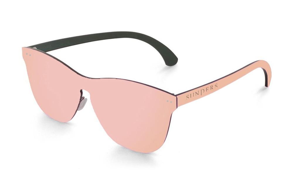 Gafas de sol SUNPERS modelo San Francisco lente plana espacial rosa frontal