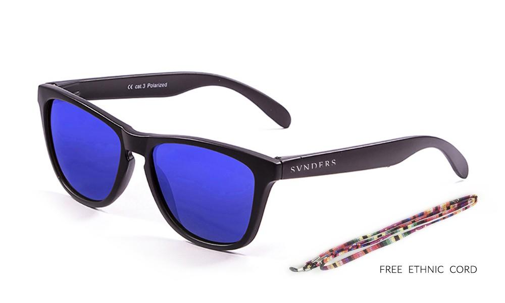 San Francisco - Clásica / negro mate / azul (gafas)