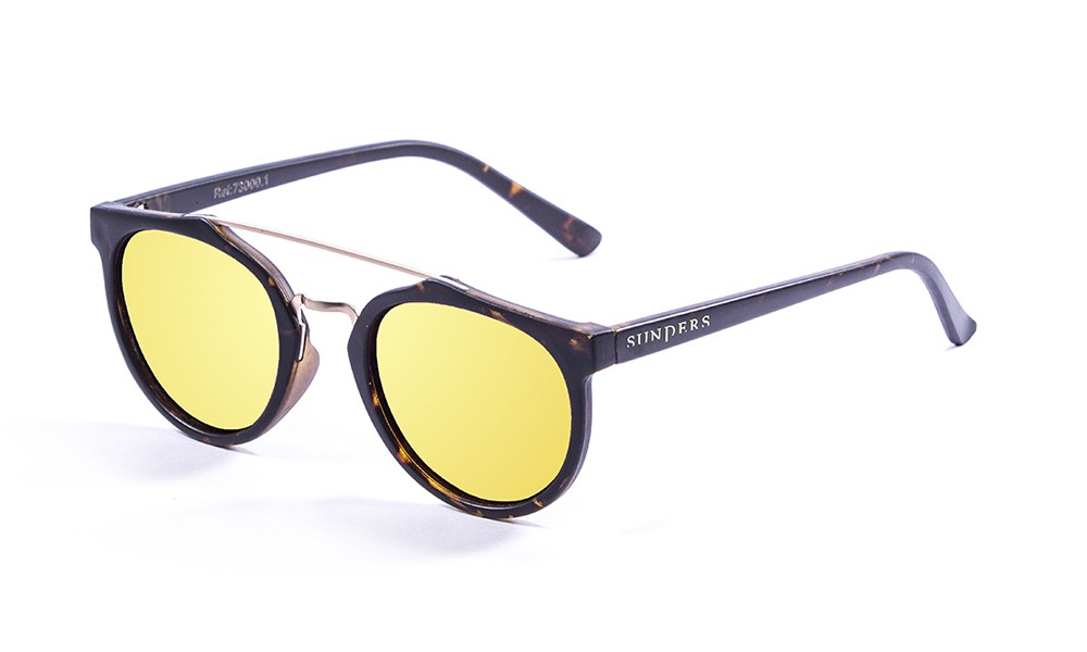frosted demy brown, revo yellow